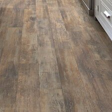 """Vintage Painted Momentous 5.43"""" x 47.72"""" x 7.94mm Laminate in Cliche"""