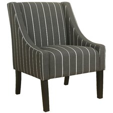 Sidney Swoop Armchair by Charlton Home