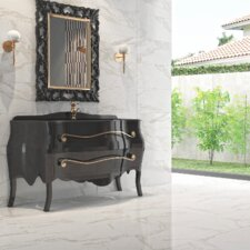 """Mirage 18"""" x 18"""" Porcelain Floor/Wall Tile in Glossy Gray"""