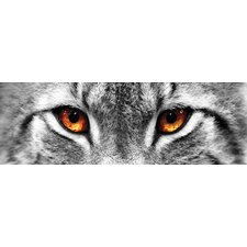 Lynx Eyes' Photographic Print on Canvas by East Urban Home