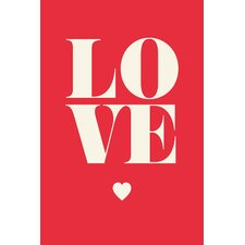 Love' Painting Print on Canvas by East Urban Home