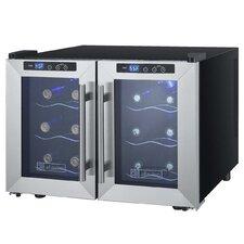 12 Bottle Cascina Series Dual Zone Freestanding Wine Cooler