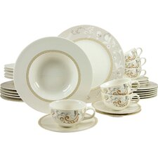 Palacio 30 Piece Dinnerware Set, Service for 6