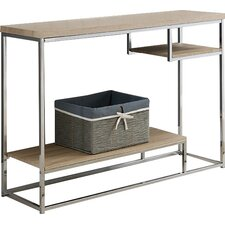 Baran Wood/Metal Console Table