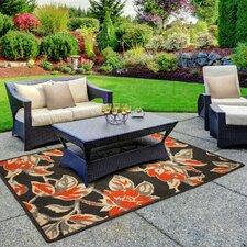 Jaya Carlisle Orange Indoor/Outdoor Area Rug