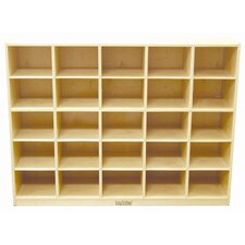 25 Compartment Cubby with Casters