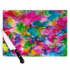 Ebi Emporium Glass 'Summer Swirls' Cutting Board