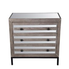 Rivers 3 Drawer Accent Chest by Union Rustic