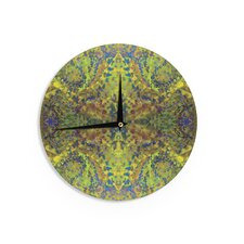 "Nikposium 'Yellow Jacket' 12"" Wall Clock"