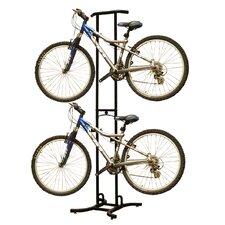 2 Bike Stand Freestanding Bike Rack