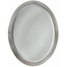 Oval Flat Edge Bathroom/Vanity Wall Mirror