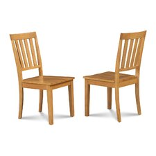 Chicago Dining Solid Wood Dining Chair (Set of 2)