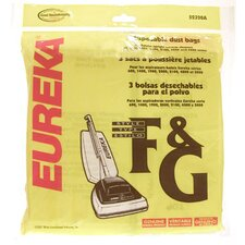 Type F and G Disposable Dust Bag
