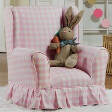 Colewood Skirted Wing Kids Cotton Club Chair