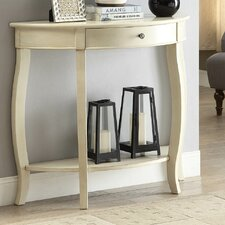 Burr Console Table by Alcott Hill