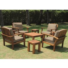 Flint 7 Piece Deep Seating Group with Cushions