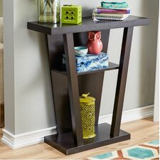 Jayne Console Table in Red Cocoa by Zipcode Design