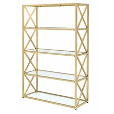 Lorenza 77 Etagere Bookcase by Everly Quinn