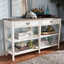 Bryan Wood Console Table by Highland Dunes
