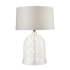 "Toni Painted Bell Glass 26"" Table Lamp"