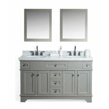 Parkman Solid Wood 61 Single Bathroom Vanity Set with Mirror by Red Barrel Studio
