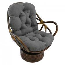 Rattan Swivel Papasan Chair