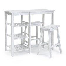 Broadalbin 3 Piece Pub Table Set