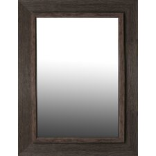 Brown Washed Aged Accent Mirror