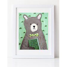 Dream a Little Dream 'You are My Greatest Adventure' by Liz Clay Framed Painting Print