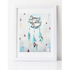 'Dream A Little Dream' by Liz Clay Framed Painting Print