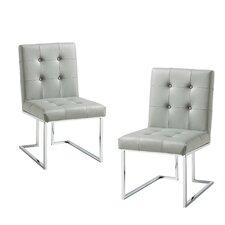Bellamy Chrome Side Chair (Set of 2)