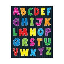 Alphabet Shape Sticker