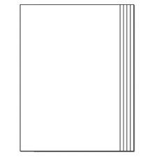 Blank Book Rectangle 12-pk 16 Pgs