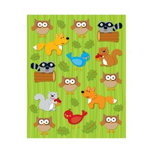 Woodland Animals Shape Sticker (Set of 3)