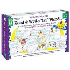 Write On/wipe Off Read & Write 1st