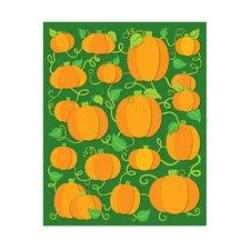 Pumpkins Shape Sticker
