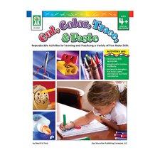 Cut Color Trace & Paste Book