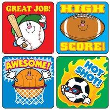 Sports Sticker (Set of 3)