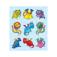 Dragons Prize Pack Sticker (Set of 4)
