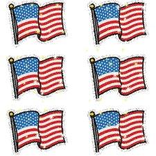 Dazzle Flags Sticker (Set of 3)