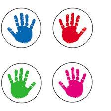 Seals Handprints Acid Sticker (Set of 2430)