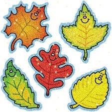 Dazzle Fall Leaves Sticker
