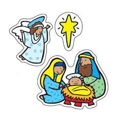 The Nativity Sticker (Set of 3)