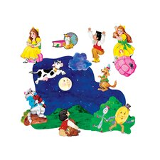 2 Nursery Rhymes Bulletin Board Cut Out (Set of 2)