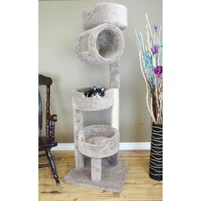 "67"" Premier Twin Tower Cat Tree"