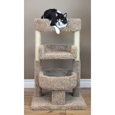 "New Cat Condos Round 33"" Triple Cat Perch"