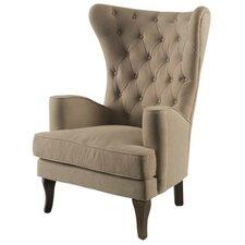 Patridge Wingback Chair by One Allium Way