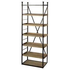 Fredon 90 Metal Frame Etagere Bookcase by Gracie Oaks