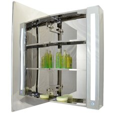 """24"""" x 32"""" Surface Mount Medicine Cabinet with LED Lighting"""