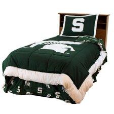 NCAA Michigan State Reversible Comforter Set